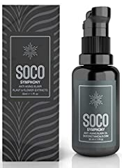 THE PERFECT MOISTURIZER: Bring out your natural radiance with our SOCO Symphony Anti Aging Elixir Face Oil. This facial moisturizer is designed to replace cream, serum & eye cream: It is a potent skin superfood all in one bottle. Exquisite formula of...