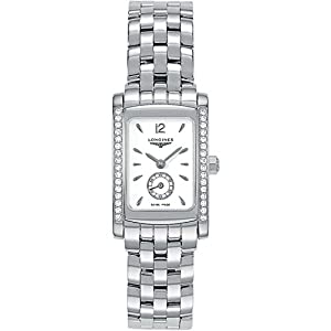 Longines Dolce Vita Quartz White Dial Stainless Steel Ladies Watch L5.155.0.16.6 image
