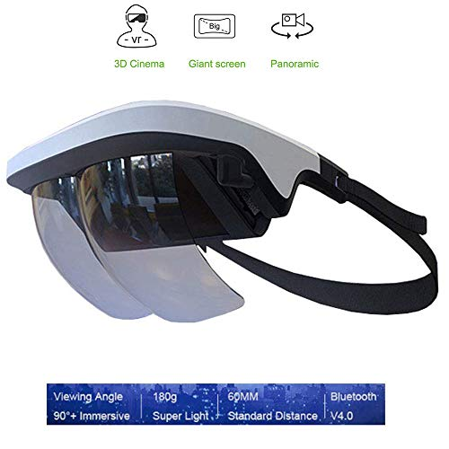 Why Should You Buy Smart VR Glasses, Virtual Reality 3D Glasses HD Screen 90° Viewing Using Optical...