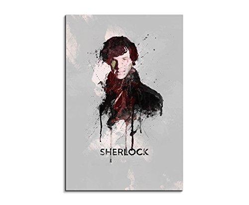 Sherlock Holmes 90x 60cm Keilrahmenbild
