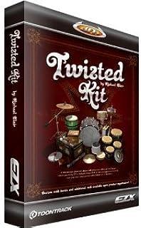 ◆最新版◆Toontrack EZX TWISTED KIT◆EZ drummer 拡張音源◆『並行輸入品』