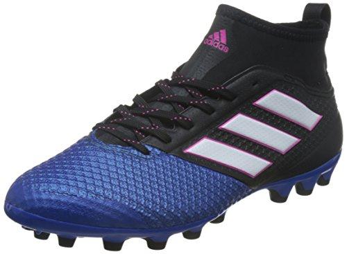 adidas Ace 17.3 Primemesh, Botas de Fútbol para Hombre, Negro (Core Black/ftw White/blue), 44 2/3 EU