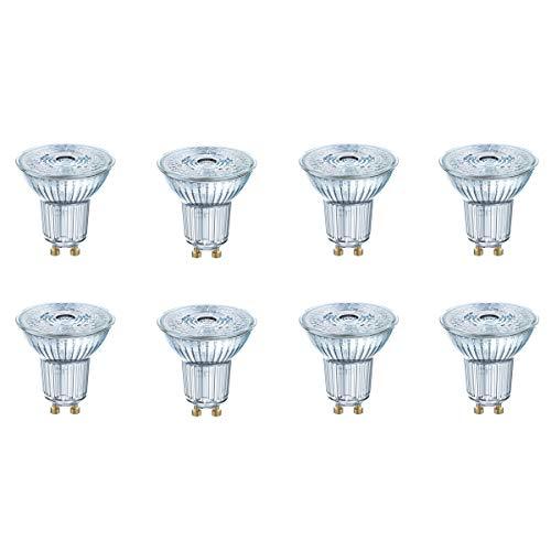 OSRAM LED STAR PAR16 35 GU10 2,6W=35W 230lm 36° warm white 2700 K nondim A++ 8er