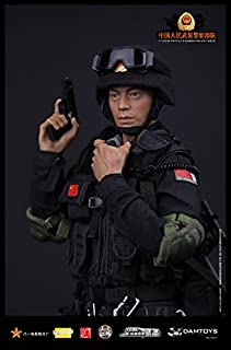 People's Republic of China People's Army Armed Police anti-terrorism special forces military figure 1/6