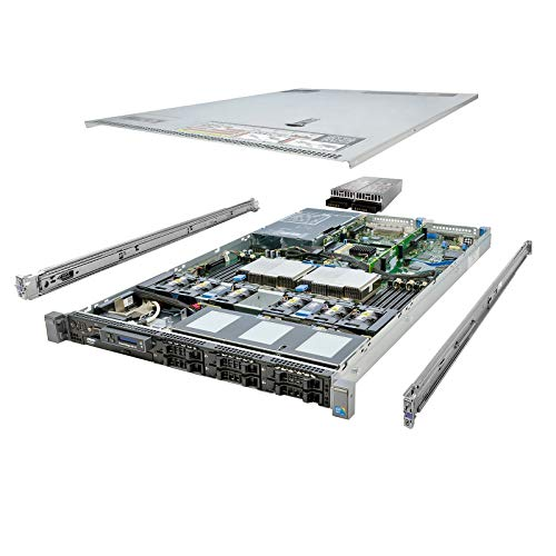 Energy-Efficient Dell PowerEdge R610 Server 12-Core 32GB 2x 146GB 2x 300GB (Renewed)