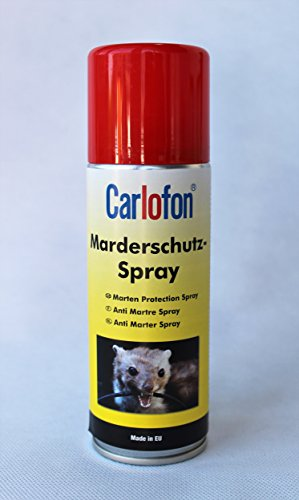 Carlofon 40830 Marderschutz Spray 200 ml, Klar, Set of 2