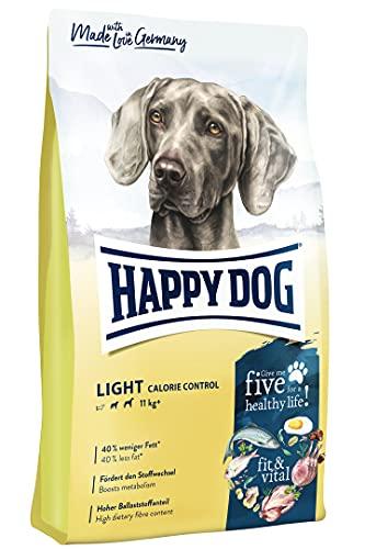 Happy Dog 60771 - Supreme fit & vital Light Calorie Control - Hunde-Trockenfutter mit geringem Fettgehalt - 12 kg Inhalt