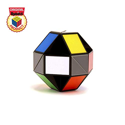 Rubik's Twist | Colourful Fidget 3D Puzzle Toy, Bend & Twist Into Shapes, Objects, and Animals