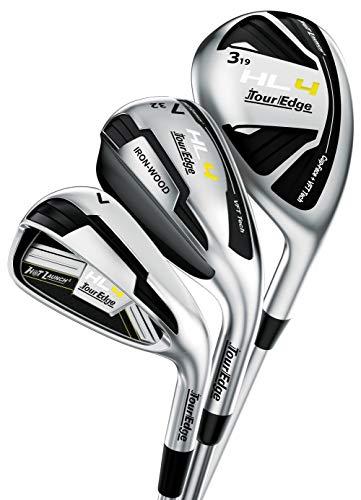 Tour Edge Golf Hot Launch 4 Triple Combo HL4 Hybrid Iron Sets (Right, Graphite, Regular)