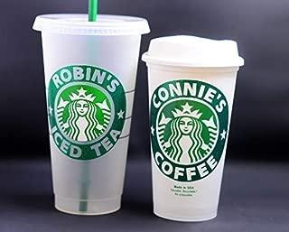 personalised reusable starbucks cup