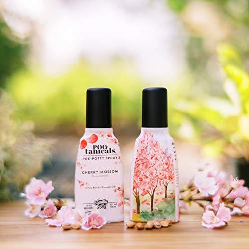 Squatty Potty Pootanicals Toilet Spray, Cherry Blossom, 4 Ounce