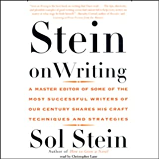 Stein on Writing     A Master Editor Shares His Craft, Techniques, and Strategies              Autor:                                                                                                                                 Sol Stein                               Sprecher:                                                                                                                                 Christopher Lane                      Spieldauer: 11 Std. und 17 Min.     11 Bewertungen     Gesamt 4,4