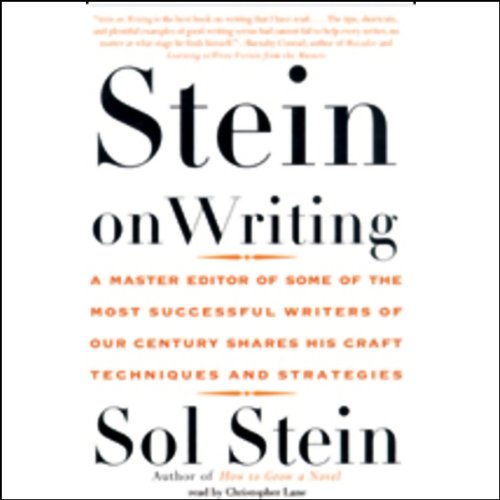 Page de couverture de Stein on Writing