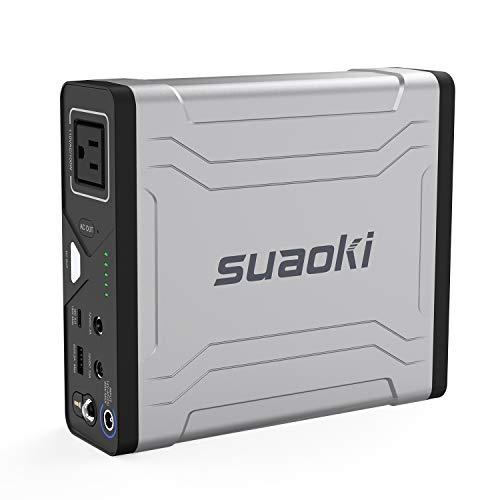 suaoki ポータブル電源 G100 27000mAh/100Wh 大容量 モバイルバッテリー AC出力対応 100W ACコンセント Type-C出力(最大18W) 急速充電QC3.0 MacBook/ノートパソコン/タブレット/Switch/ドローン