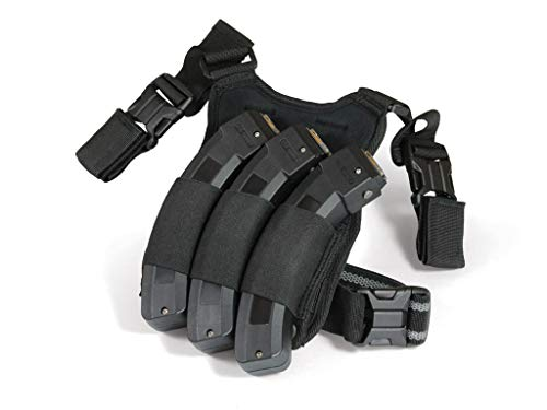 Adaptive Tactical Triple Mag Pouch for Ruger 10/22 30 Round Magazines 22lr Drop Leg