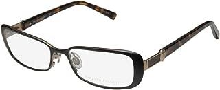 Trussardi 12507 For Ladies/Women Designer Full-Rim Shape Titanium Flexible Hinges Optical Eyeglasses/Spectacles