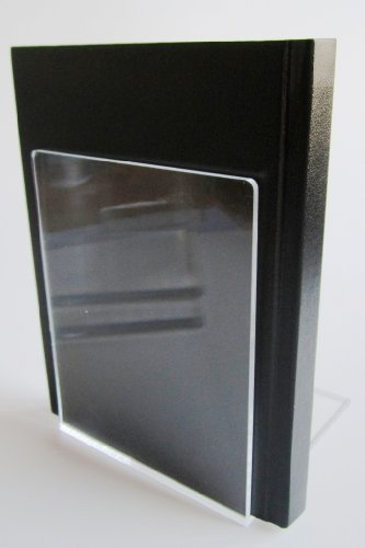 LE-ONs® Buchstützen aus Acryl, klar, 10 x 10 x 13 cm, VE=2 Stück