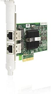 HP 412651-001 NC360T dual port Gigabit Ethernet adapter board - Has two external RJ45 10/100/1000Mb ports - Requires one low profile (or full height) x4 PCIe slot