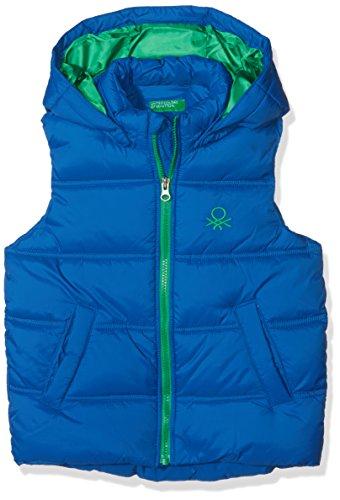 United Colors of Benetton Waistcoat Chaleco, Azul (Blue 33M), 170 (Talla del fabricante: 13-14 años) para Niños