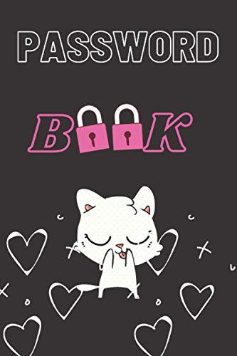 Password book: Cute Cat Lovers Design Cover : Internet Passwords Keeper Log Book, Password keeper notebook, Password log book: Organize all your ... to this cute password book for CAT LOVERS!