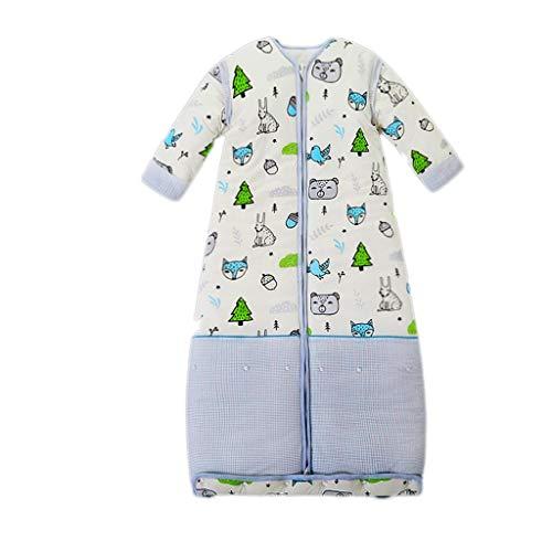 THBEIBEI Slaapzak Baby Slaapzak Verstelbare lengte Katoen Swaddle Verwijderbare Mouw Pasgeboren Baby Jongen Meisje Gift Deken Quilt Of wieg Wrap voor 12-22°