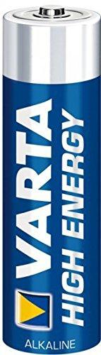 Varta High Energy AA Alkaline 1,5 Volt Batterien Blister LR6 Mignon, 20er Set (2x10units)
