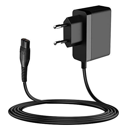 MEROM 4.3V Rasierer Ladekabel Ersatz für A00390 Netzteil Kompatibel mit Philips Oneblade Shaver QP2520 / 20 QP2520 / 30 QP2520 / 64 Ladegerät