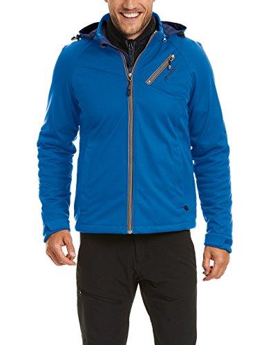 maier sports Herren Softshelljacke Orion, olympian blue, 56, 160003