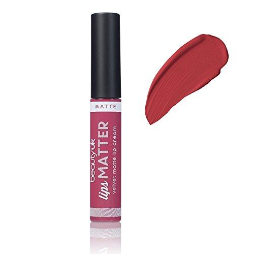 Beauty UK Long Lasting Matte Cream Lipstick Lips Matter - No.4 Shake your Plum