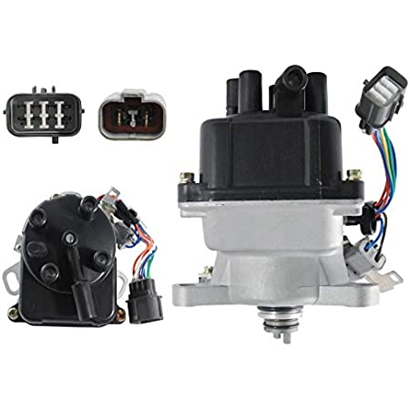 Excluding EX Models 1992 1993 Accord 1992-1995 Prelude FAERSI Ignition Distributor for 92-95 Honda Accord Prelude 2.2L External Coil fit TD-52U//TD-59U//TD52U//TD59U 1994 1995 Accord LX DX 2.2L L4