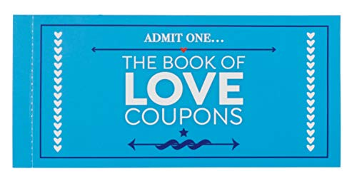 Juvale Valentines Day Love Coupons Gift for Him - 20 Naughty Sex Coupons Book for Husband, Boyfriend and Couples, 6 x 4 Inches