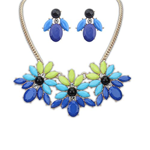 GYJUN Bijoux Colliers décoratifs/Boucles d'oreilles/Quotidien/Résine 1set Femme, one size