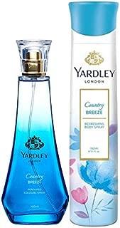 Yardley London Country Breeze Daily Wear Perfume 100ml + Yardley London Country Breeze Refreshing Deo 150ml