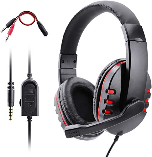 DKEE auriculares Qwee PS4 Headset, auricular for juegos for Xbox One S...