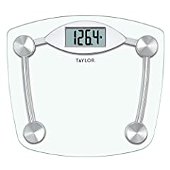 "13""X11.75"" Digital Bathroom scale features an easy to read 1.2"" Lcd display 400Lb(180 kg) capacity weighing in 0.2lb increments Constructed with a high tempered clear glass scale platform and high quality chrome finish base Includes instant on, auto ..."