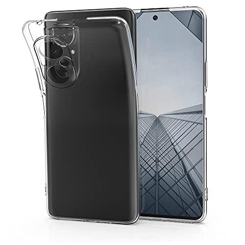 kwmobile Cover Compatibile con Honor 50 SE - Custodia in Silicone TPU - Back Case Cover Protezione Posteriore - Trasparente