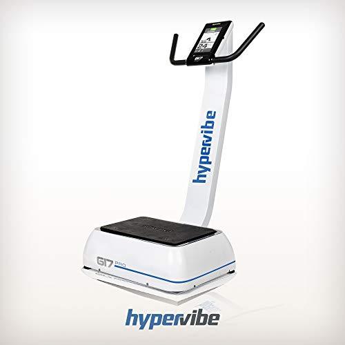 Hypervibe G17 PRO V2 - Macchina Vibrante Intelligente per Tutto Il Corpo, per Fitness e Terapia
