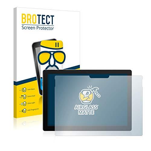 BROTECT Protector Pantalla Cristal Mate Compatible con Microsoft Surface Pro 7 Protector Pantalla Anti-Reflejos Vidrio, AirGlass