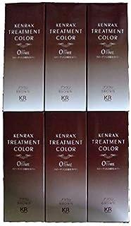 ケンラックス トリートメントカラー ブラウン(染毛料)160g[ヘアマニキュアタイプ] 6個セット