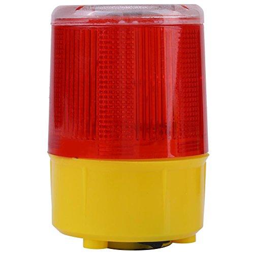 Hilitand Solar Emergency Beacon Strobe Light LED wasserdichte Warnung Blitzlicht Alarm Lampe Road Rotes Licht für Auto LKW Fahrzeug Boot
