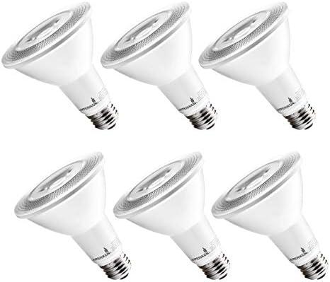 Hyperikon LED PAR30 Dimmable Bulb 10W 70W Long Neck Flood Light CRI 80 UL Energy Star Soft White product image