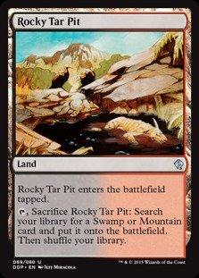 Magic The Gathering  Rocky Tar Pit 069/080  Duel Decks: Zendikar vs Eldrazi