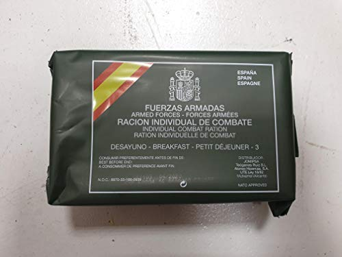 Spanish Army Ration Pack MRE's (Menu A3) 1