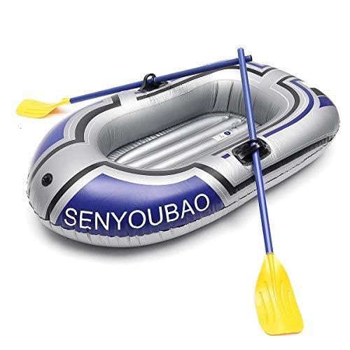N\A Aufblasbares Kajak-Kanu Ruder Air Boat Doppelventil Driften Tauchen als Zubehör/Zweipersonenfischerboot Bootsteile (Size : A)