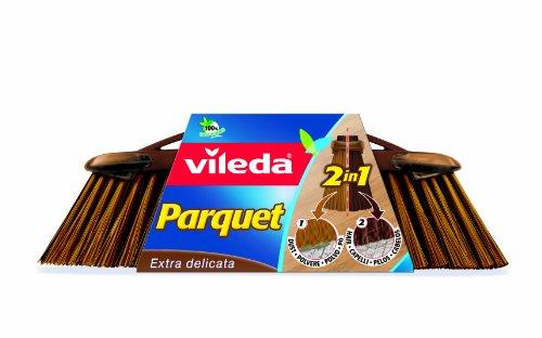 Vileda 2in1 Besenkopf für Parkettböden