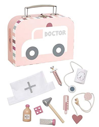JABADABADO Doktor Spiel-Set Pink W7132