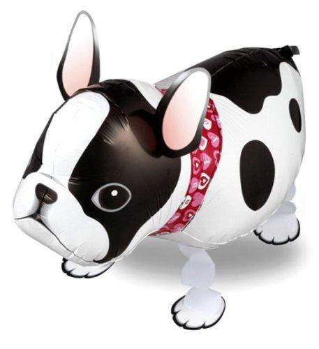 1 Stück AirWalker'French Bulldog - Französische Bulldogge' - Folienballon, ohne LOLLIPOP®-Gasfüllung