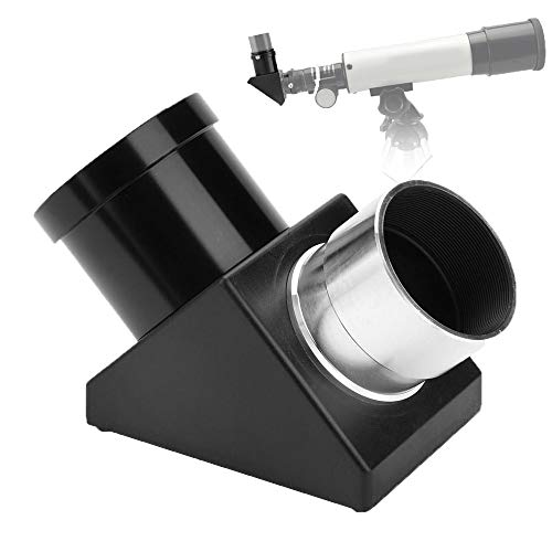 "1.25"" 90 Degree Diagonal Adapter Erecting Image Positive Prism Optic Mirror for Telescope Eyepiece Accessories Georgia"