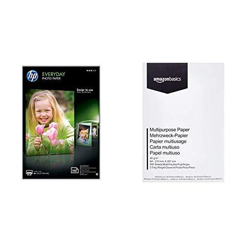 Papel Fotografico 10X15 Hp papel fotografico 10x15  Marca HP