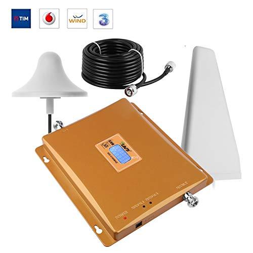 Yuanj - Amplificador de señal móvil 3G gsm 900/2100 MHz